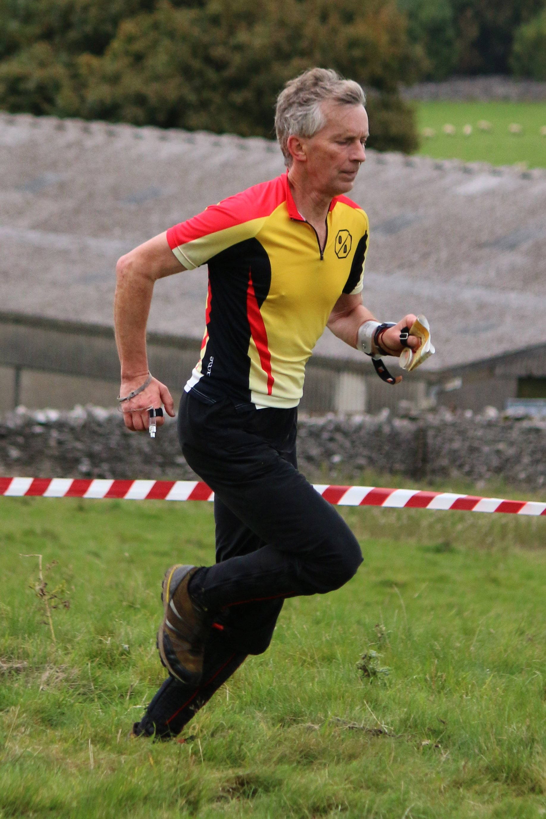 Barry Elkington at Compass Sport Cup