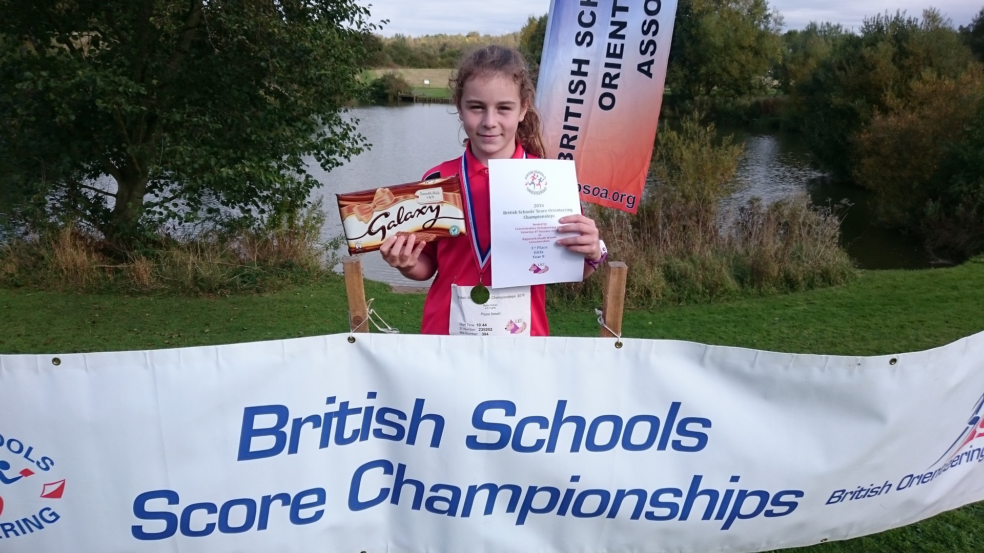 Myton School wins Year 9 class in British Schools Score Orienteering Championships