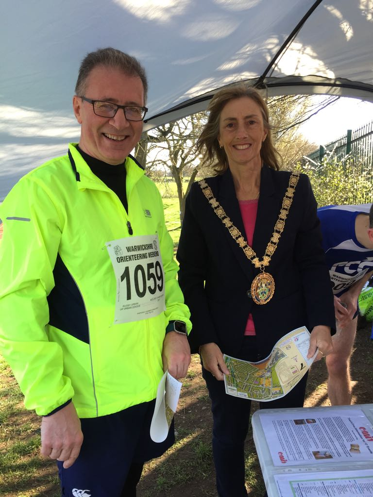 Mark Pawsey MPand Mayor of Rugby2c Councillor Sally Bragg